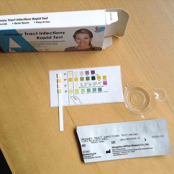 test för urinvägsinfektion